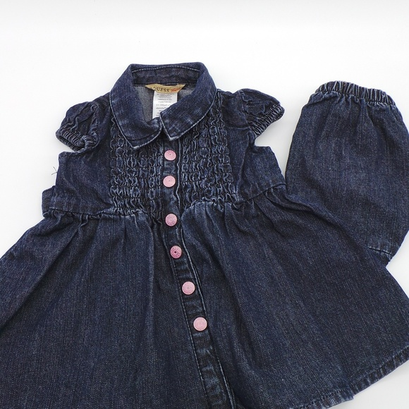 Infant Denim Dress Set